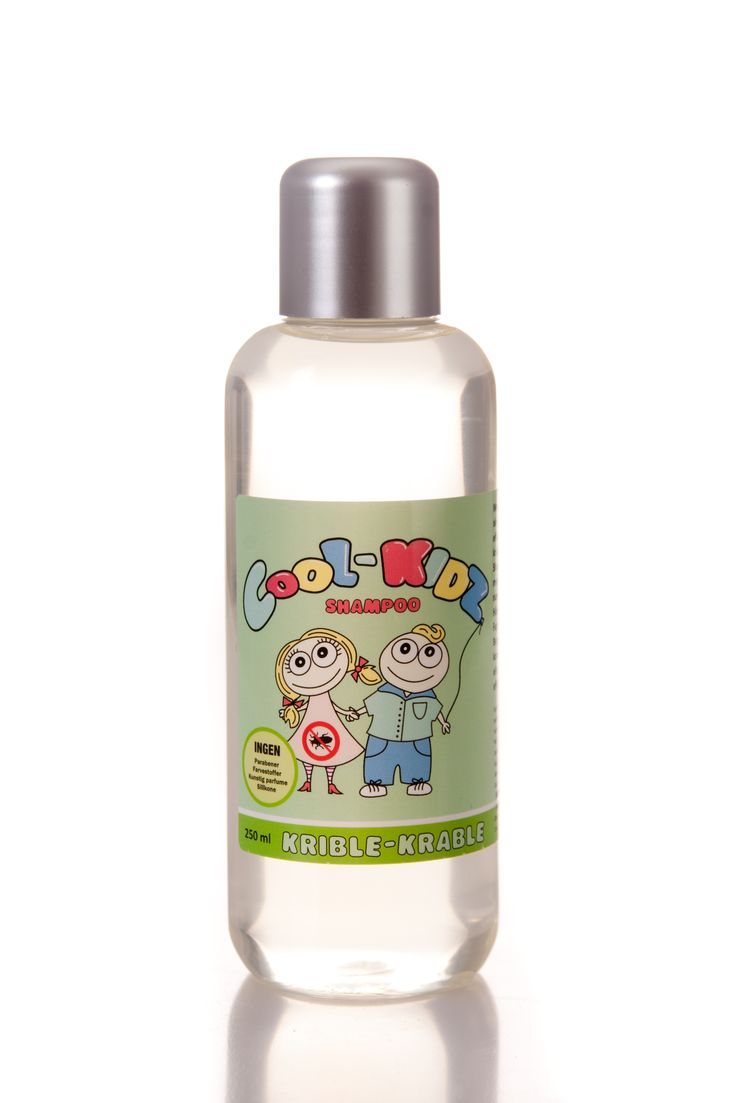 Krible Krable Shampoo 250 ml.  With tea tree oil known for its antibacterial and preventive effect, to keep lice from a distance. The shampoo cleans mildly while it protects, strengthens and nourishes the hair shaft. The hair is left shiny and smooth. Suitable for all hair types.  DKK 139