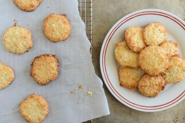 Scandinavian Coconut Cookies - simple recipe, beautifully written.