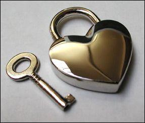 Heart Shaped Lock & Key