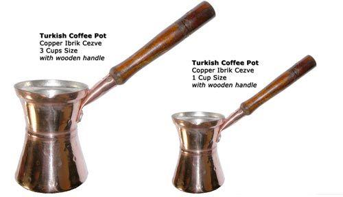 I want a Ibrik to make my own turkish coffe.
