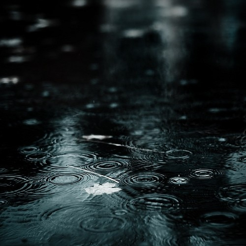 rain. I love the sound of rain against the window/roof when it is pouring. I find the sound of rain sooo soothing;