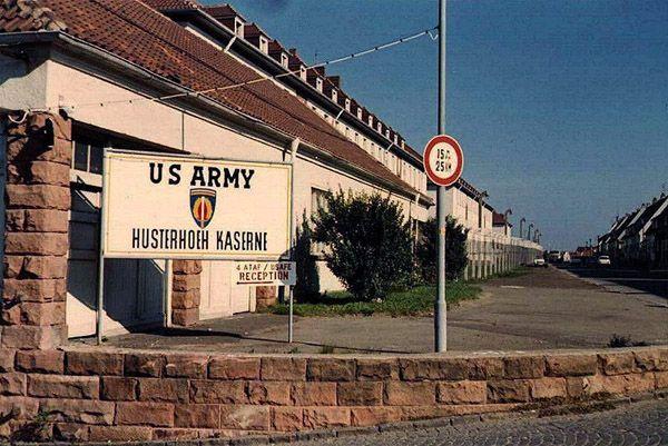 """Pirmasens Germany Us Army """"Base"""" Husterhoeh Kaserne Bradley's first home"""