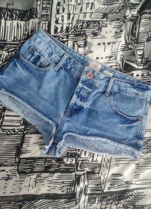 Dżinsowe szorty krótkie