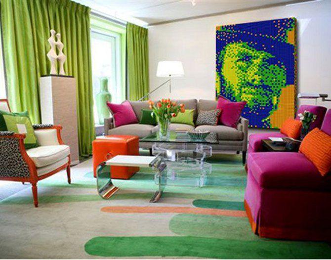 261 Best Pop Art Interior Design Images On Pinterest