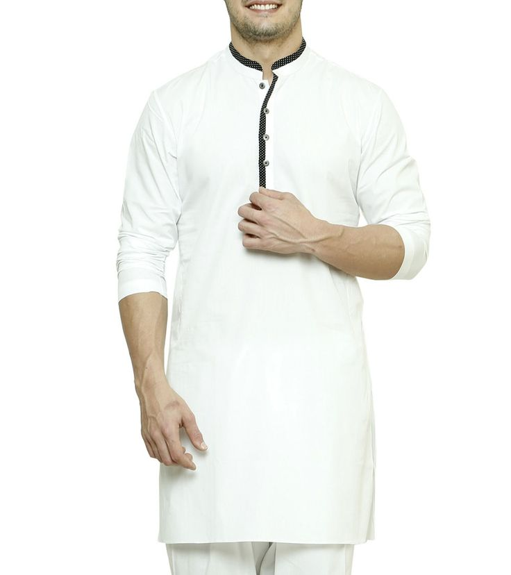 #White Cotton #Kurta by #See #Designs at #Indianroots