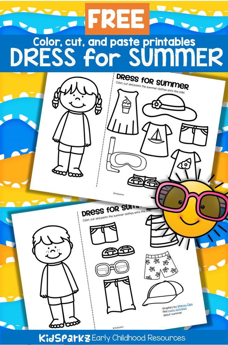 SUMMER Clothes Dress Boy and Girl Free Preschool