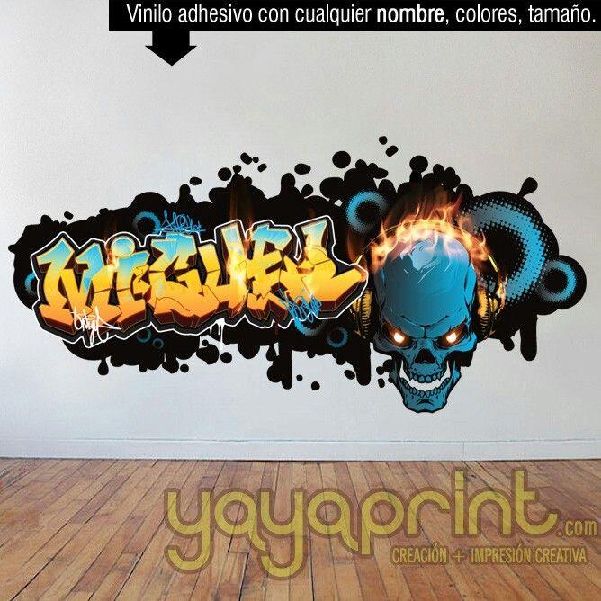 Ms de 25 ideas increbles sobre Graffitis de calaveras en