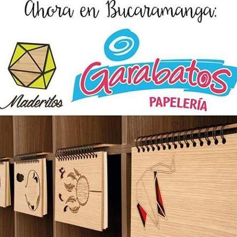 Encuentra ahora nuestras libretas #mimaderito en #garabatos papelería - Bucaramanga.  @garabatos_papeleria  Diseños #exclusivos, el #mejorregalo  #maderitoscolombia