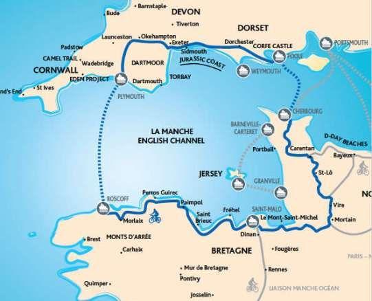 La Manica (in inglese semplicemente il Channel) è uno dei bracci di mare più noti della storia. Ha costituito nell'ultimo millennio il sistema difensivo più efficace per la Gran Bretagna: l'ultima invasione dell'isola risale al 1066, quando il normanno Guglielmo il Conquistatore introdusse la cultura e la lingua franco-normanna nelle isole britanniche. Dalla sua epoca [&hellip