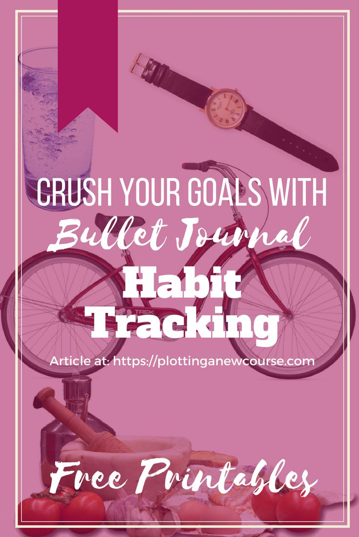 Tracking habits we want to change is easy in the Bullet Journal format. All you need to do is check in each time you make a positive step in the direction you want to go. Unlearn bad habits and create new healthy ones. The bullet journal is perfect for reaching your goal. #bulletjournalgoalsetting #trackhabits #healthyhabits #goodhabits #personalgoals #wayoflife