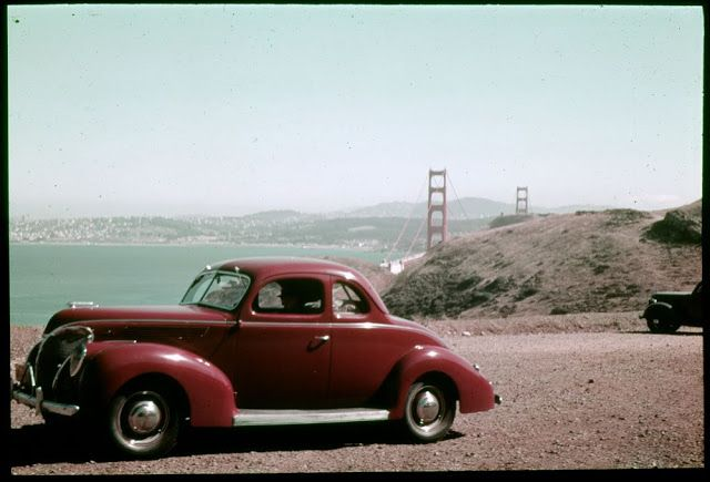 vintage everyday: Colorful Photographs Taken in the 1940s and 1950s That Show a Beautiful San Francisco Before It Became the Center of the Tech World