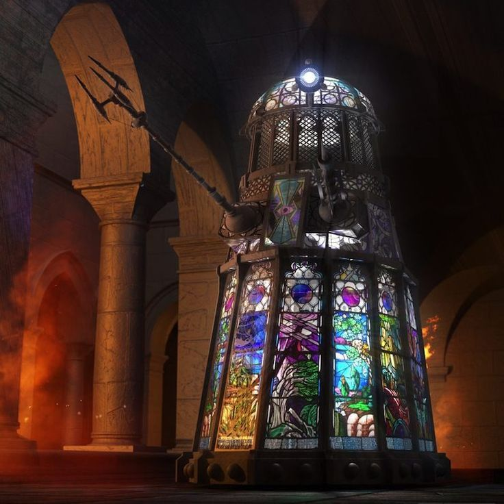 This is the most intimidating Dalek I've ever seen!!