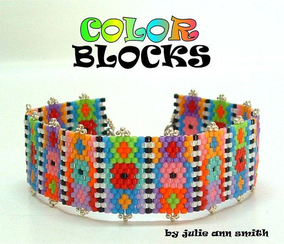 Julie Ann Smith Designs COLOR BLOCKS Odd by JULIEANNSMITHDESIGNS