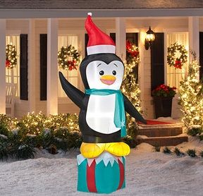 cheap christmas inflatables value bundle choose outdoor lightsyard with walmart outdoor christmas decorations