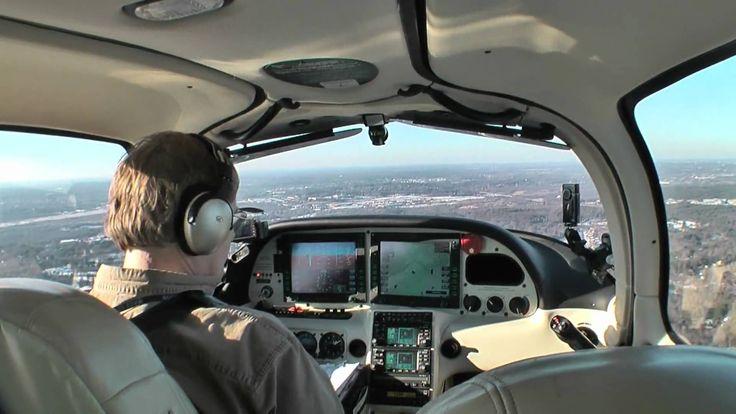 Cirrus SR20 Landing OWD 1-16-10.mov