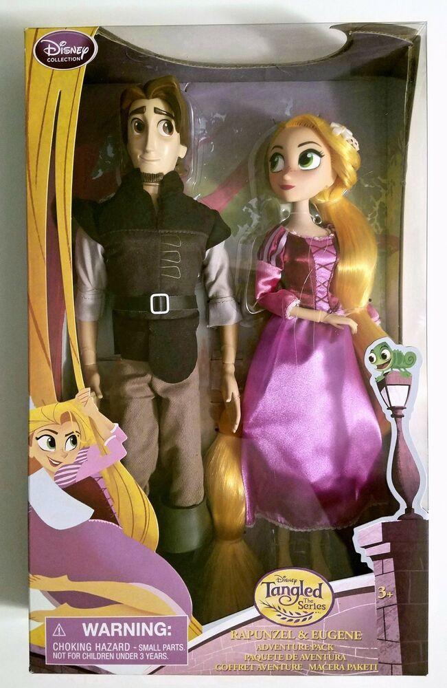 Htf Disney Tangled Series Princess Rapunzel Flynn Rider Doll Adventure Set Ebay Disney Tangled Princess Rapunzel Rapunzel