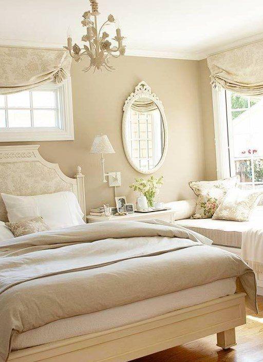 Cream and white bedroom ideas - https://bedroom-design-2017.info/interior/cream-and-white-bedroom-ideas.html. #bedroomdesign2017 #bedroom