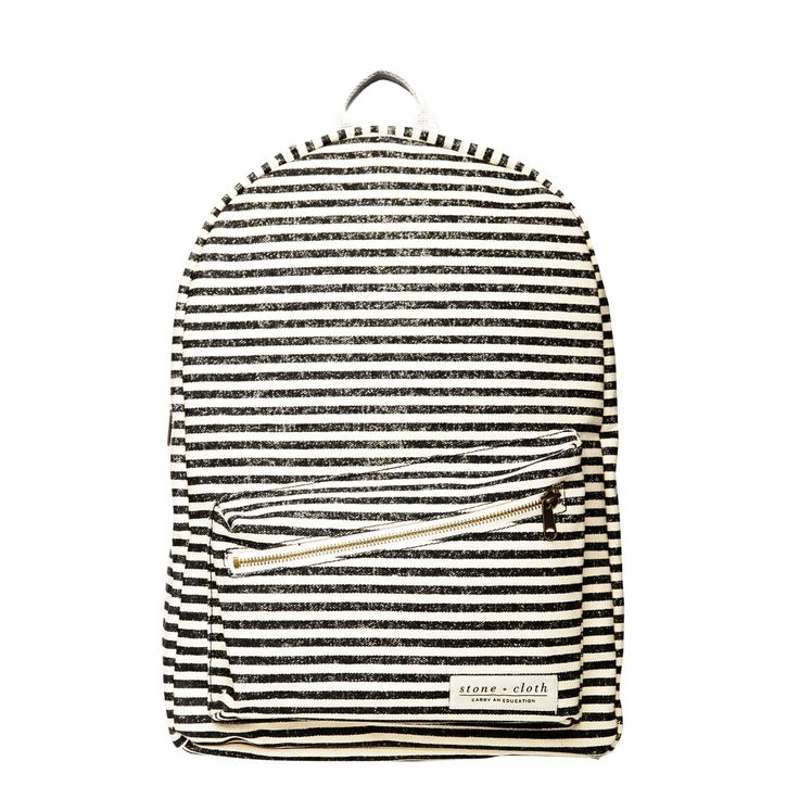 The Lucas Backpack - Nautical Navy | Stone & Cloth | Carry an Education and share a Story