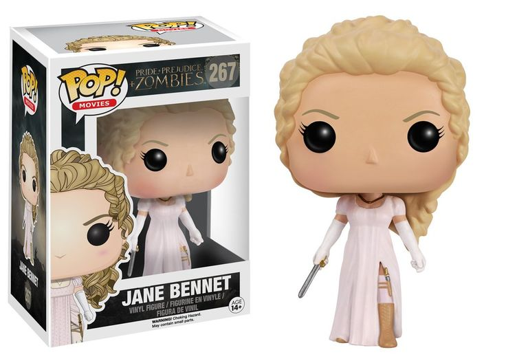 Pop! Movies: Pride + Prejudice + Zombies - Jane Bennet
