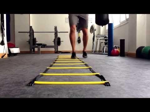 AhaLMAN - Escalera de agilidad - YouTube Cardio, Badminton, Healthy Tips, Health Fitness, Exercise, Tennis, Sport, Motor, Workouts