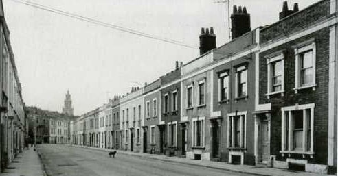 Bishop Street, St Pauls, Bristol. My late Aunty Bet lived here with her husband Len & his parents after sailing through the Suez Canel in 1943 to take up her new life in the UK, fresh from Waltair, South India.