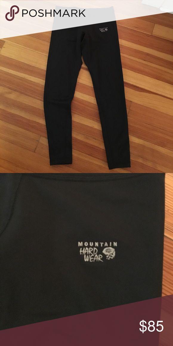 Mountain Hard ware Leggings Fleece lined black leggings from mountain hardware Mountain Hard Wear Pants Leggings