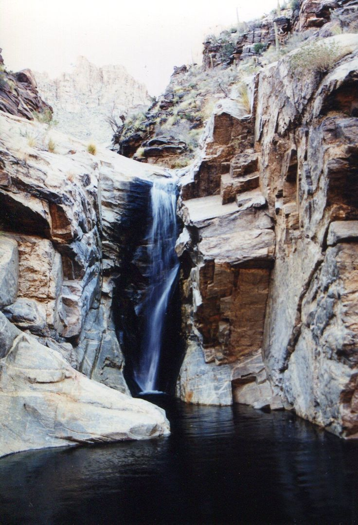 Seven Falls Trail is a 7.8 mile out and back trail located near Tucson, Arizona that features a waterfall and is good for all skill levels. The trail is primarily used for hiking and is accessible year-round.