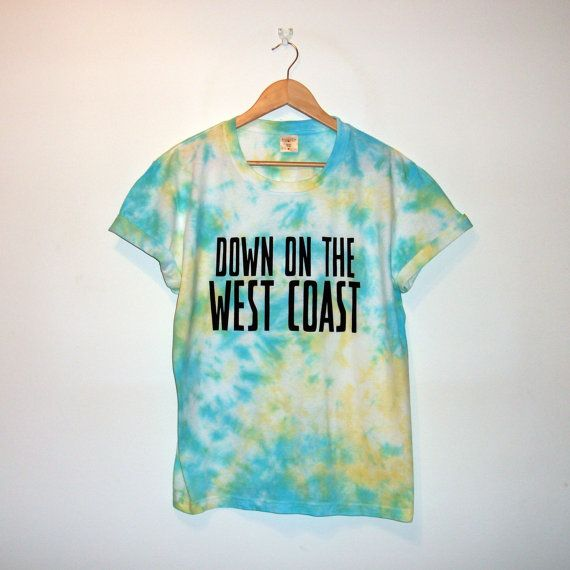 Down On The West Coast T-shirt