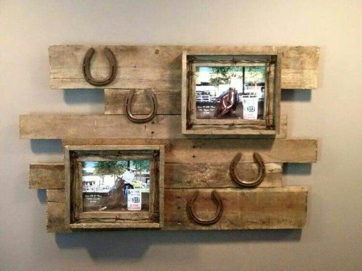 horseshoe pallet picture frame ms - Picture Frame Design Ideas