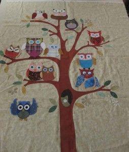 The 25+ best Owl quilt pattern ideas on Pinterest | Owl quilts ... : owl applique quilt pattern - Adamdwight.com