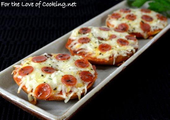 how to cook frozen mini pizza bagels