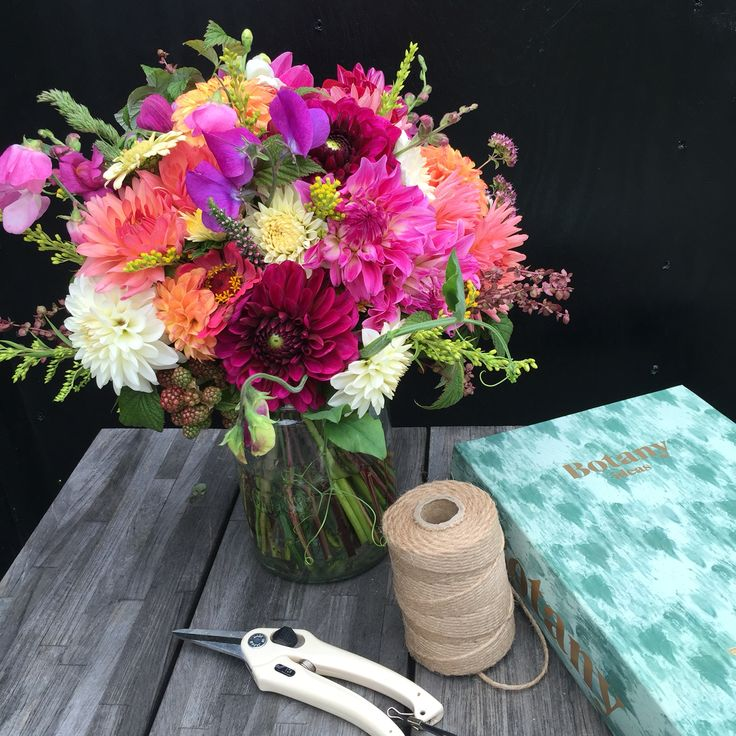 Organic bouquet, august 2016