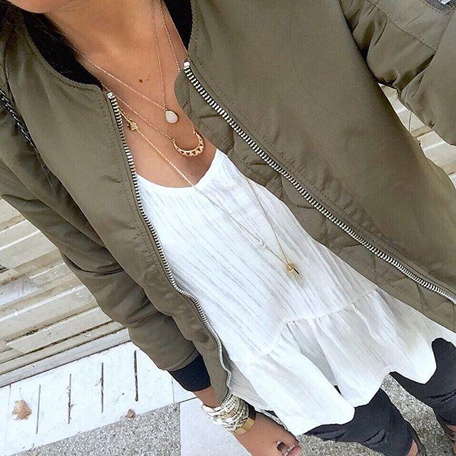 Kaki✔️ #ootd #outfit #wiwt #bomber