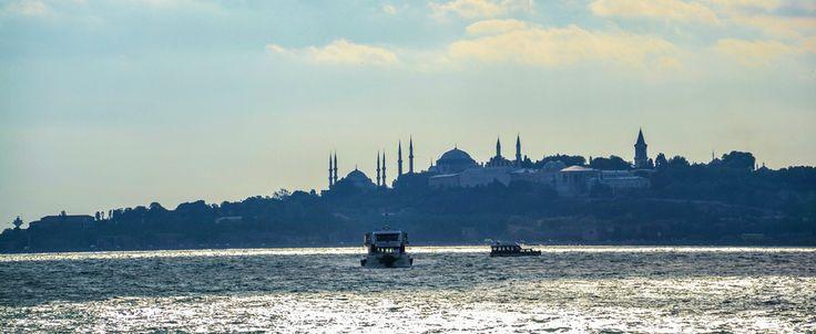 The Bosphorus in Istanbul, Turkey. from Marian Sintemaartensdijk