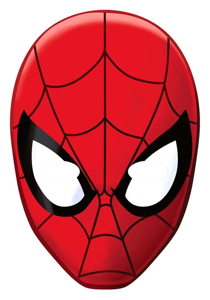 Spiderman Face Mask 8 Paper Masks Spider Man Face Inside Facejpg On Spiderman  2
