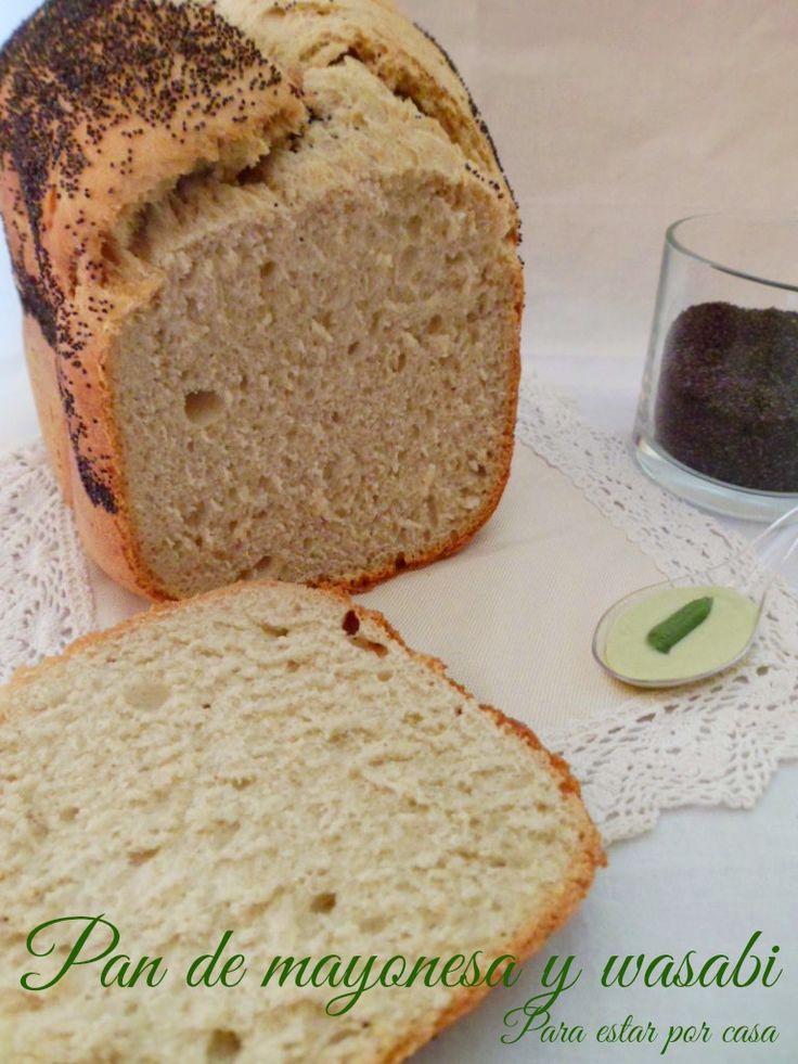 Para estar por casa: Pan de mayonesa y wasabi