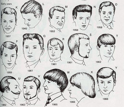 1960's men's hairstyles