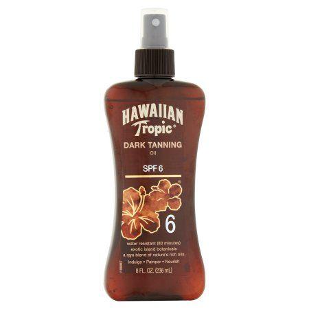 Hawaiian Tropic Dark Tanning Oil SPF 6, 8 fl oz