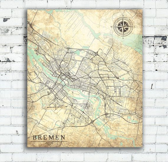 The Best Bremen Map Ideas On Pinterest - Germany map bremen