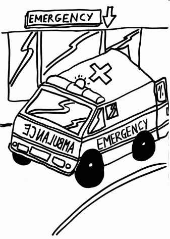 Paramedic | coloring pages for free