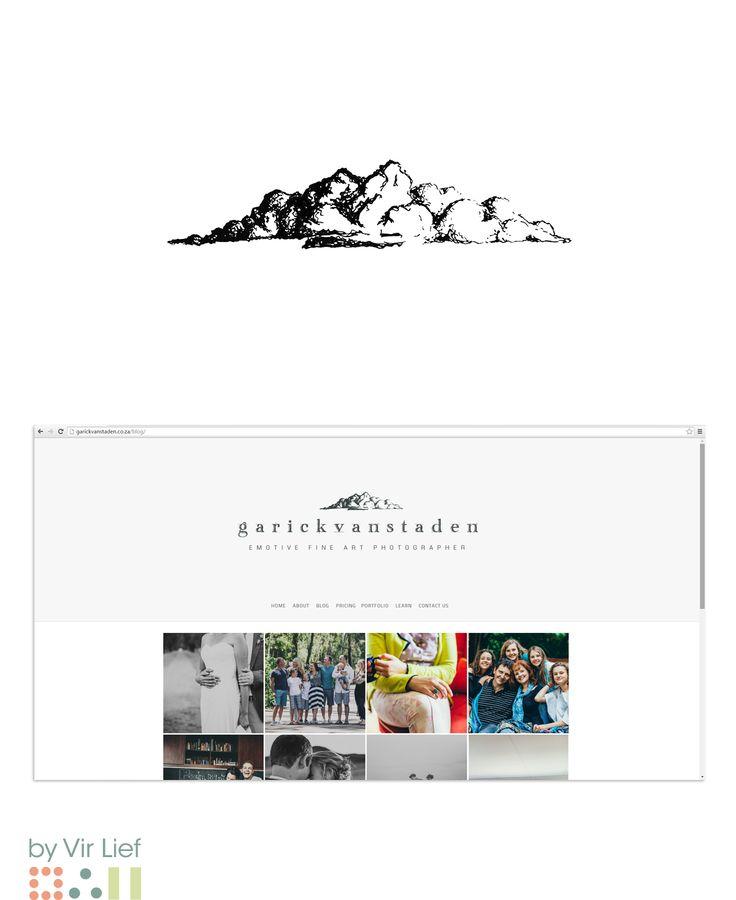 Illustration for Garick van Staden Photography's logo by Vir Lief. http://garickvanstaden.co.za/blog/
