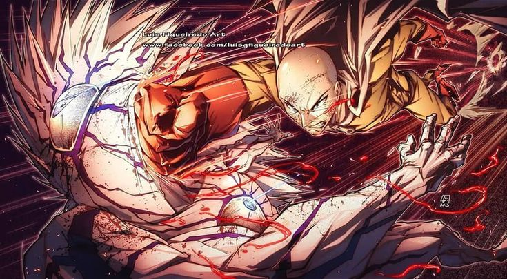 One Punch Man Saitama Vs Nyamuk - No hay ninguna descripción de la foto disponible. | One ...
