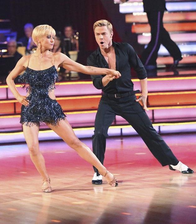 Kellie Pickler and Derek Hough…