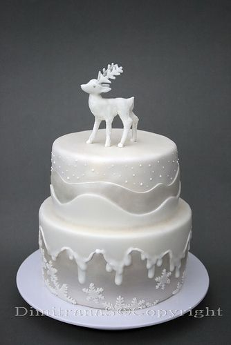 If ever I do a christmas party....this might be the staring cake!