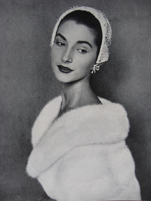Vogue Nov 1954  Cecil Beaton