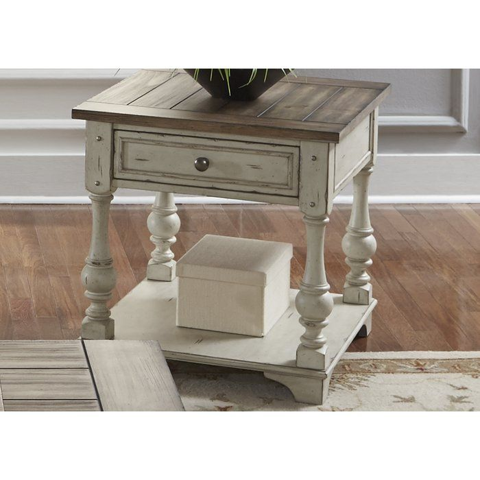 Ismael End Table Painted Bedroom Furniture Decor Furniture