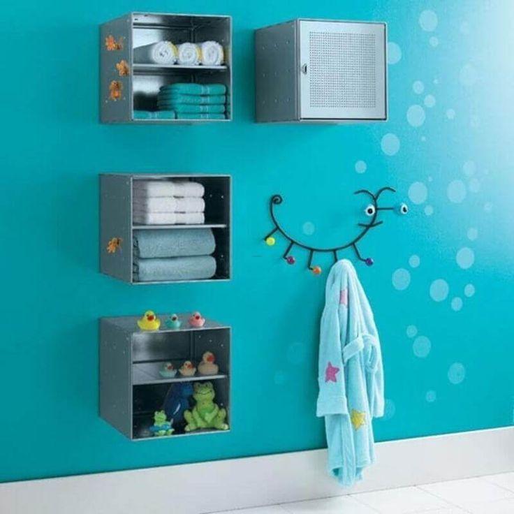 20 süße und farbenfrohe Kinder-Badezimmer-Ideen, die jede Mutter verführen werden –