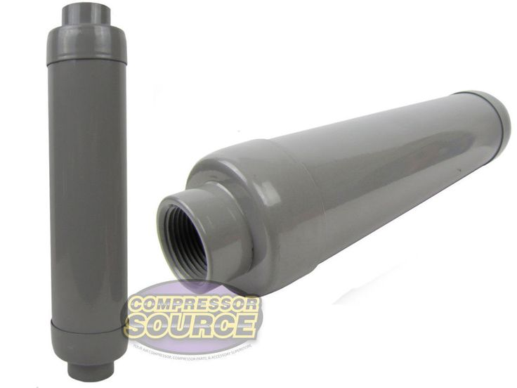 """Air Compressor 1"""" Filter Silencer Muffler Solberg Quiet Intake Head In Take New   Business & Industrial, Light Equipment & Tools, Generator Parts & Accessories   eBay!"""