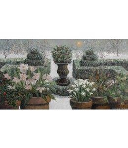 Winter Garden by Laetitia de Haas. https://www.kunstkaartjesturen.nl/collectie/laetitia-de-haas-wintertuin-zonder-jaar