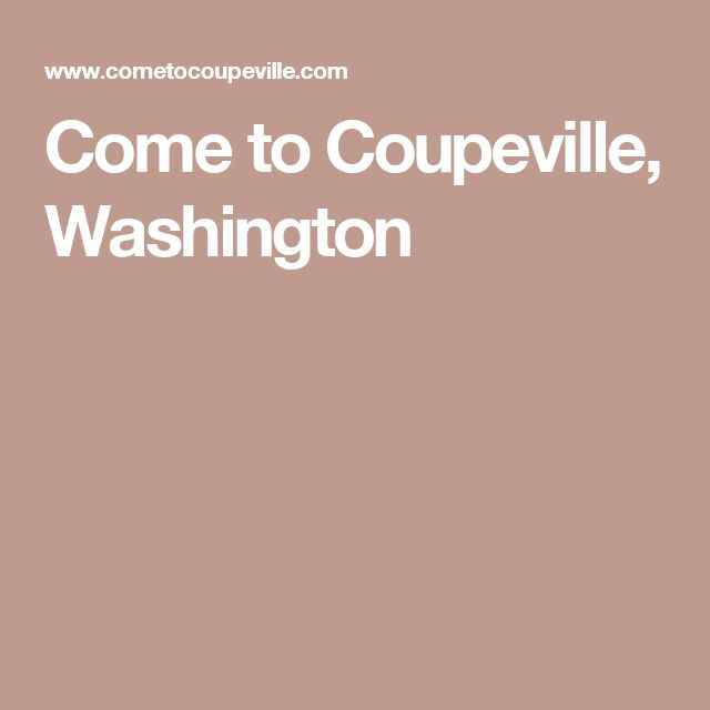 Come to Coupeville, Washington - This is where Practical Magic was filmed.